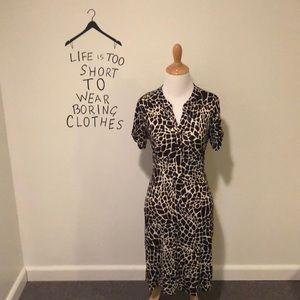 NWOT Animal Print Dress